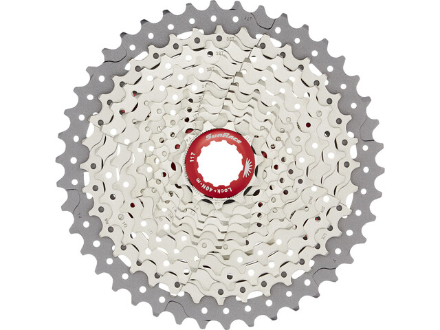 SunRace CSMX8 Cassette 11-speed metallic